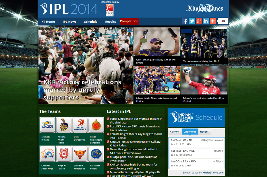IPL-Khaleej Times
