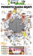 Perdelapan Final Piala Dunia 2014