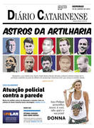 CAPA DO DIÁRIO CATARINENSE 25/01/2015