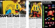 Pixels Movie/Pacman Anniversary spread