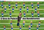 O time do Palácio dos Bandeirantes