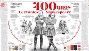 A 400 años de la muerte de Cervantes y Shakespeare