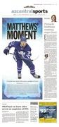 The Arizona Republic // Matthews' moment // 12.15.2016