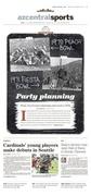 The Arizona Republic // Party planning // 12.26.2016