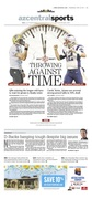 """The Arizona Republic // """"Throwing against time"""" // 04.19.2017"""