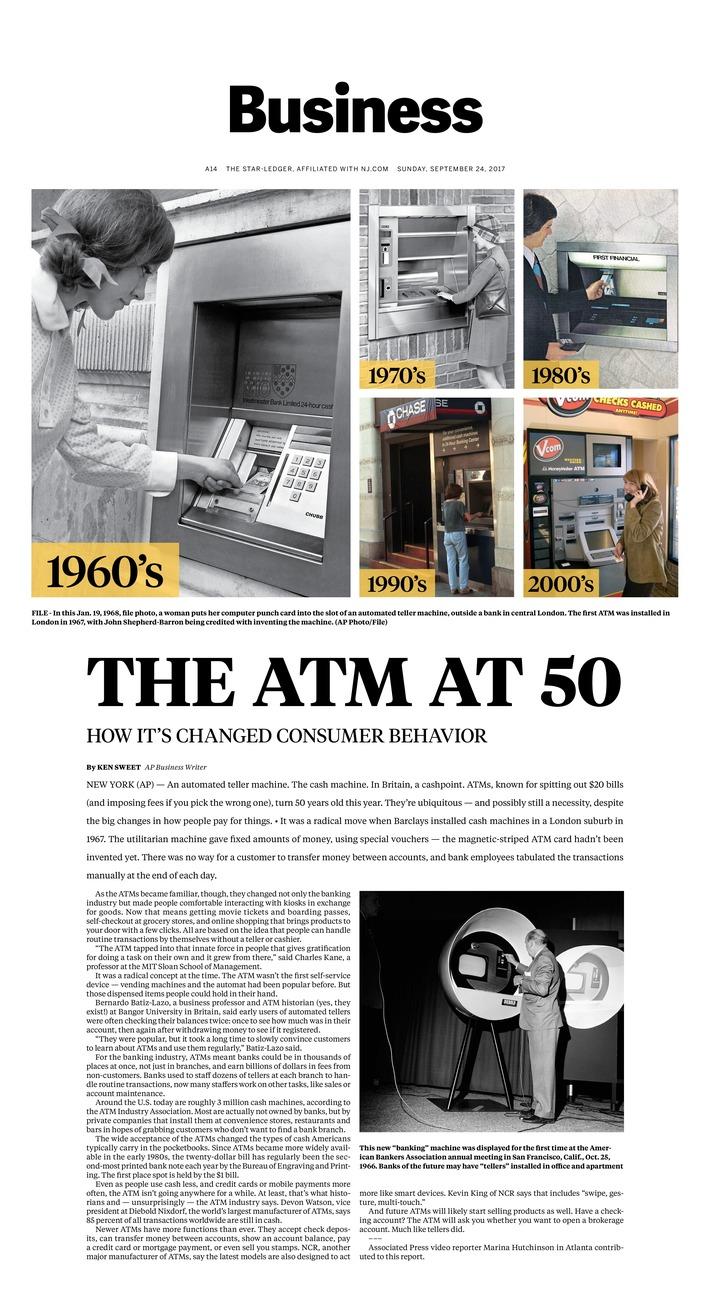 ATM at 50