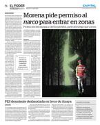 MORENA pide permiso al narco