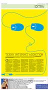 teen's internet addiction