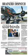 Brainerd Dispatch front page 06/19/2018