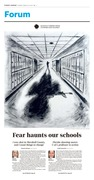 Fear Haunts Our Schools