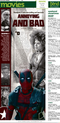 Movie Page for 'Deadpool'