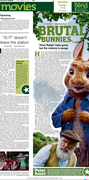Movie Page for 'Peter Rabbit'
