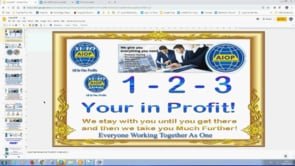 As Simple as 1,2,3 Your In Profit with Auto AIOP System Mega Update Webinar Replay 4th March 2019