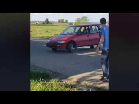CAR TURNED INTO CRAZY KART!!!