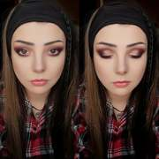 5minute make-up look with MakeUp Revolution
