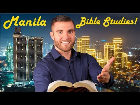 Manila Philippines Free Bible Study Program!