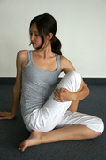 Drehsitz - Yoga Spinal Twist