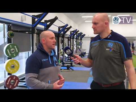 Al Kellock and Stuart Yule on Scotland Strength and Conditioning