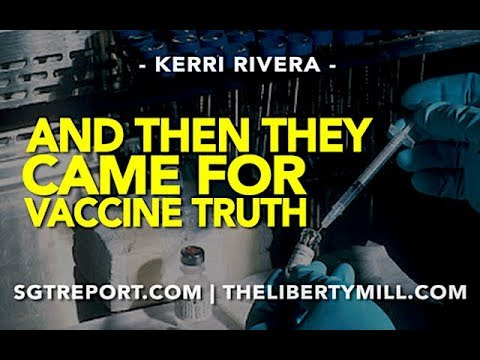And Then They Came For Vaccine Truth