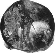 Da  Van Dyck, wood engraving, 2009.