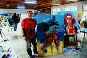 8.INTERNATIONAL ART SYMPOSIUM IN ANTALYA, TURKEY