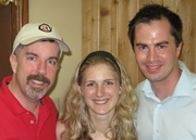 Peter K. O'Connell with Stephanie and David Ciccarelli