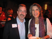 Peter K. O'Connell and Connie Terwilliger at VOICE 2010