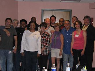 Voice Over students at the Pat Fraley Voice Over Workshop, Buffalo NY 2009