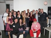 The voice talents represented by Voice Talent Productions at the 2009 New York City Voice Over Mixer