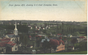 East Hampton post card From Barton Hill, Looking S.E. Photo_