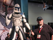 Me with Captain Rex