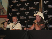 Paul Eiding and Scott McNeil at Bot-Con
