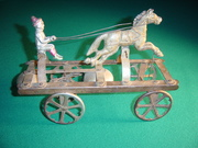 Watrous Horse with Clown Driver No. 633 right
