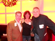 Peter K. O'Connell, Randye Kaye & Paul Strikwerda at the 2010 NYC Voiceover Mixer