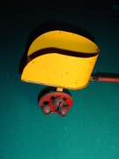 Kirby Chariot Pull Toy side