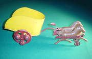 Kirby Chariot and horses bell toy