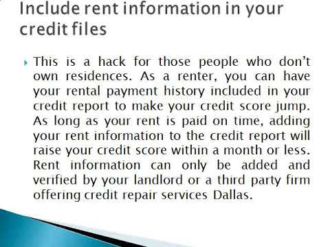 Get Fast Credit Repair in Fort Worth Using These Moves   D818 Consulting