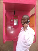 complete standing payphone 4 zain