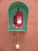 SMALL BOOTH PAYPHONE