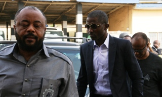 13-FROM LEFT, IFEANYI ANOSIKE, GEORGE OGBONNA OF DOWNSTREAM ENERGY SOURCES LTD FOLLOWED BY EMMANUEL MORAH 013