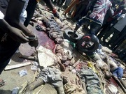 Gruesome Boko Haram Photos of Dead Terrorists From Giwa Barracks Attack Surface - PHOTO ADVISORY