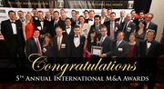 2013 Cross Border M&A Summit and 5th Annual International M&A Awards