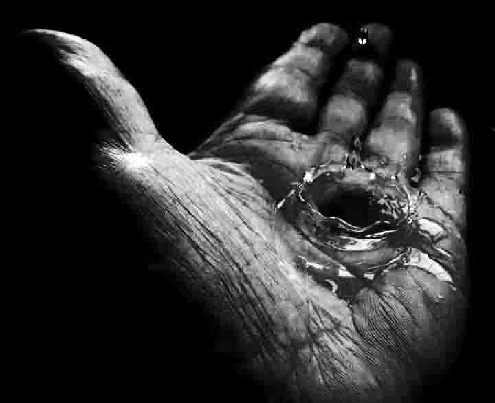 water drip.