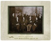 Office Bearers, Falkirk Amateur Photographic Association, 1898