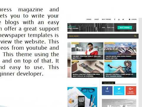 wordpress magazine themes - Wp Web Themes