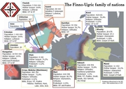 Finno-Ugric map with info