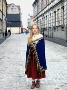 Древнелатгальский костюм.