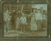 Жители села Редикор Чердынского уезда Пермской губернии. 1913 г.
