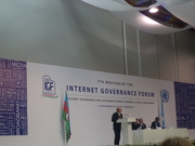 Diplo Foundation at Internet Governance Forum 2012, Baku, Azerbaijan