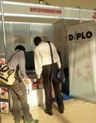 The DiploFoundation Booth at IGF12 in Baku